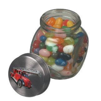 Fire ladder car jelly belly candy jar