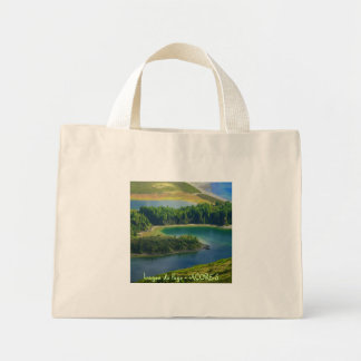 Fire Lake, Azores Tote Bag