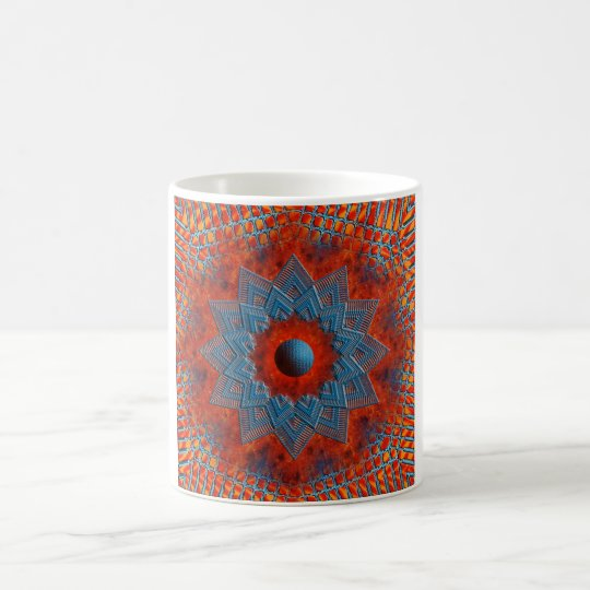 Fire & Lattice Mug