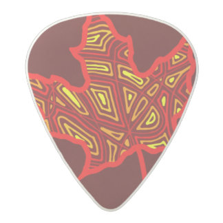 Fire Leaf Acetal Guitar Pick
