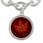 Fire Leaf Bracelet
