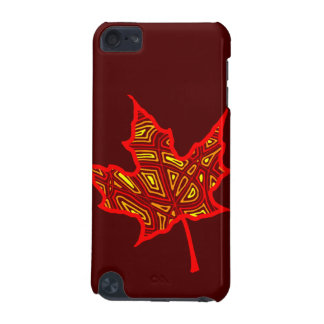 Fire Leaf iPod Touch (5th Generation) Cover