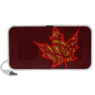 Fire Leaf Laptop Speaker