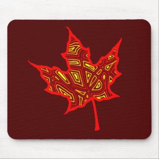 Fire Leaf Mousepad