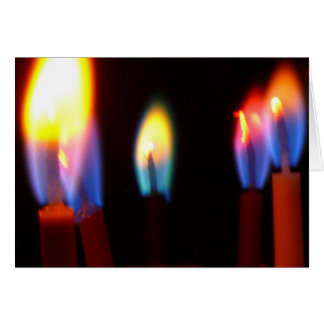 Fire & light cards, birthday candles