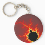 Fire Lightning Keychain