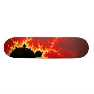 Fire Lightning Skateboard Deck