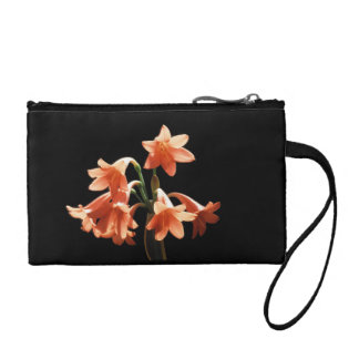 Fire Lily, a Cyrtanthus Hybrid Change Purse
