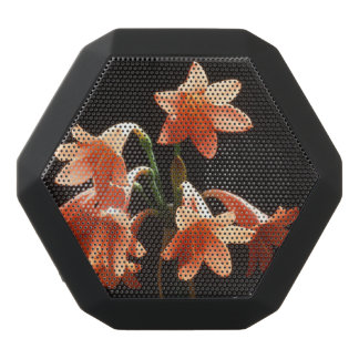 fire lily black bluetooth speaker