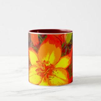Fire Lily Coffee Mug