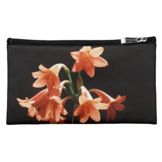 fire lily cosmetic bag