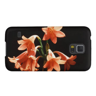fire lily galaxy s5 case