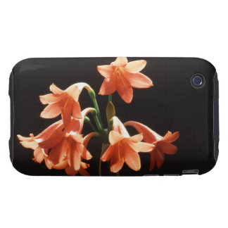 fire lily iPhone 3 tough cover