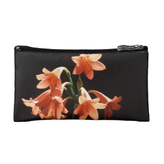 fire lily makeup bag