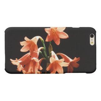 fire lily matte iPhone 6 plus case