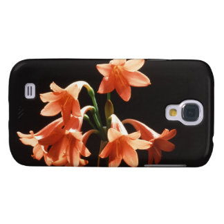 fire lily samsung galaxy s4 cover