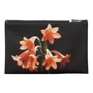fire lily travel accessory bag