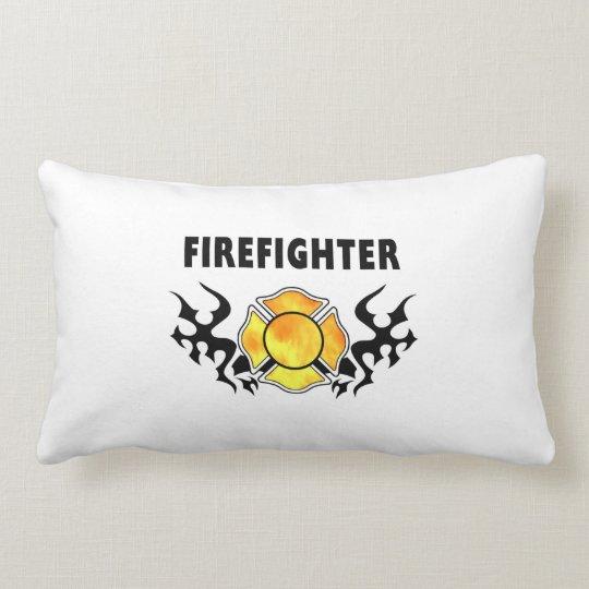 Fire Line Tattoo Lumbar Pillow