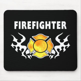 Fire Line Tattoo Mouse Pad