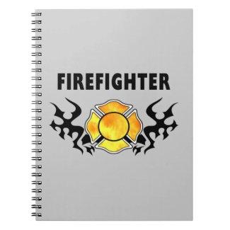 Fire Line Tattoo Notebooks