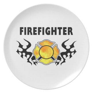 Fire Line Tattoo Plate