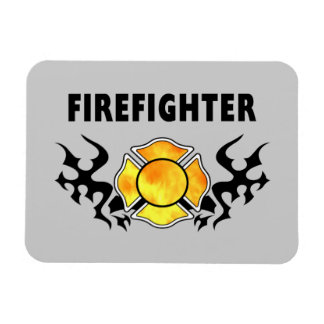Fire Line Tattoo Vinyl Magnets