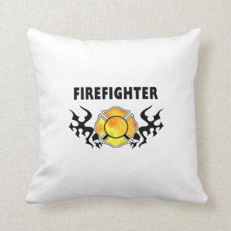 Fire Line Tattoo Throw Pillow
