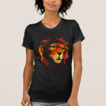 Fire Lion - African Lion King of the Jungle Tee Shirt