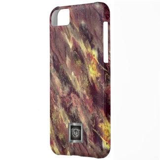 Fire Liquid camo iPhone 5C case