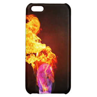 Fire Lit Match iPhone 5C Cover