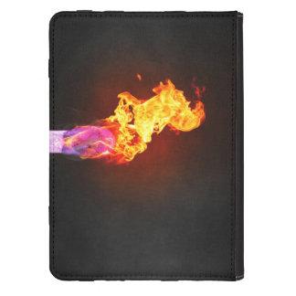 Fire Lit Match Kindle 4 Case