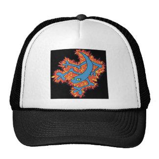 Fire Lizard Trucker Hat