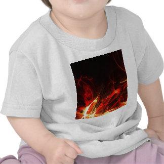 Fire Logo Fractal Abstract Art Gear Shirt