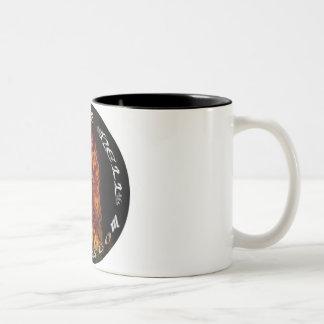 Fire Logo Two-Tone Coffee Mug