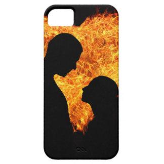 Fire Love Heart iPhone SE/5/5s Case
