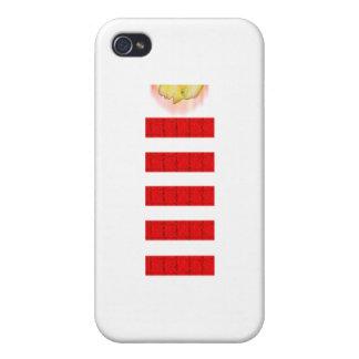 Fire Magic Head Down iPhone 4 Case