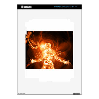 Fire man skins for iPad 3