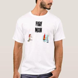 Fire Man - T Shirt