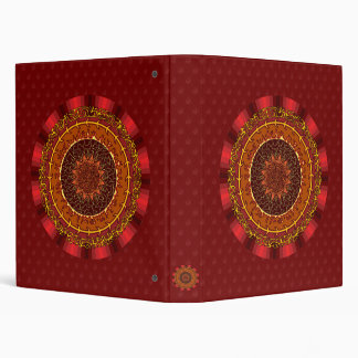 Fire Mandala Binder