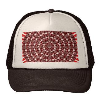 fire mandala mesh hat
