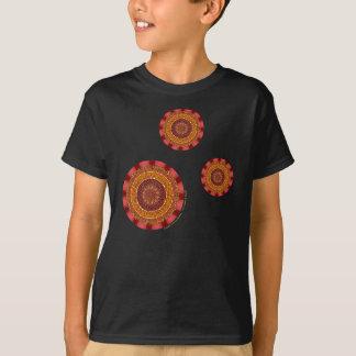 Fire Mandala Kid's and Baby Dark Shirt