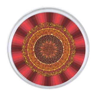 Fire Mandala Lapel Pin