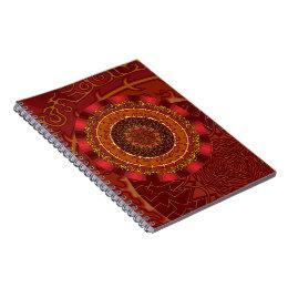 Fire Mandala Notebook