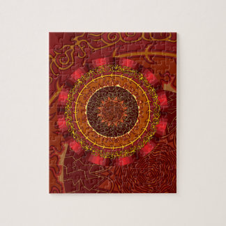 Fire Mandala Puzzle