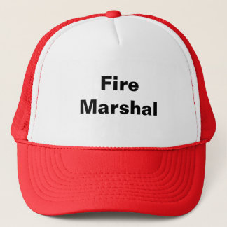 Fire Marshal Trucker Hat