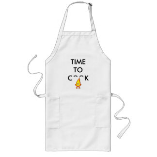 fire_meaney, TIME TO COOK Long Apron