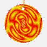 fire medallion ornament
