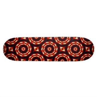 Fire Moon Mandala Skateboard