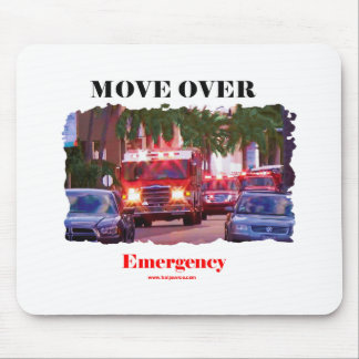 Fire_Move_Over. Mouse Pad