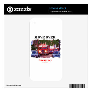 Fire_Move_Over. Skin For The iPhone 4